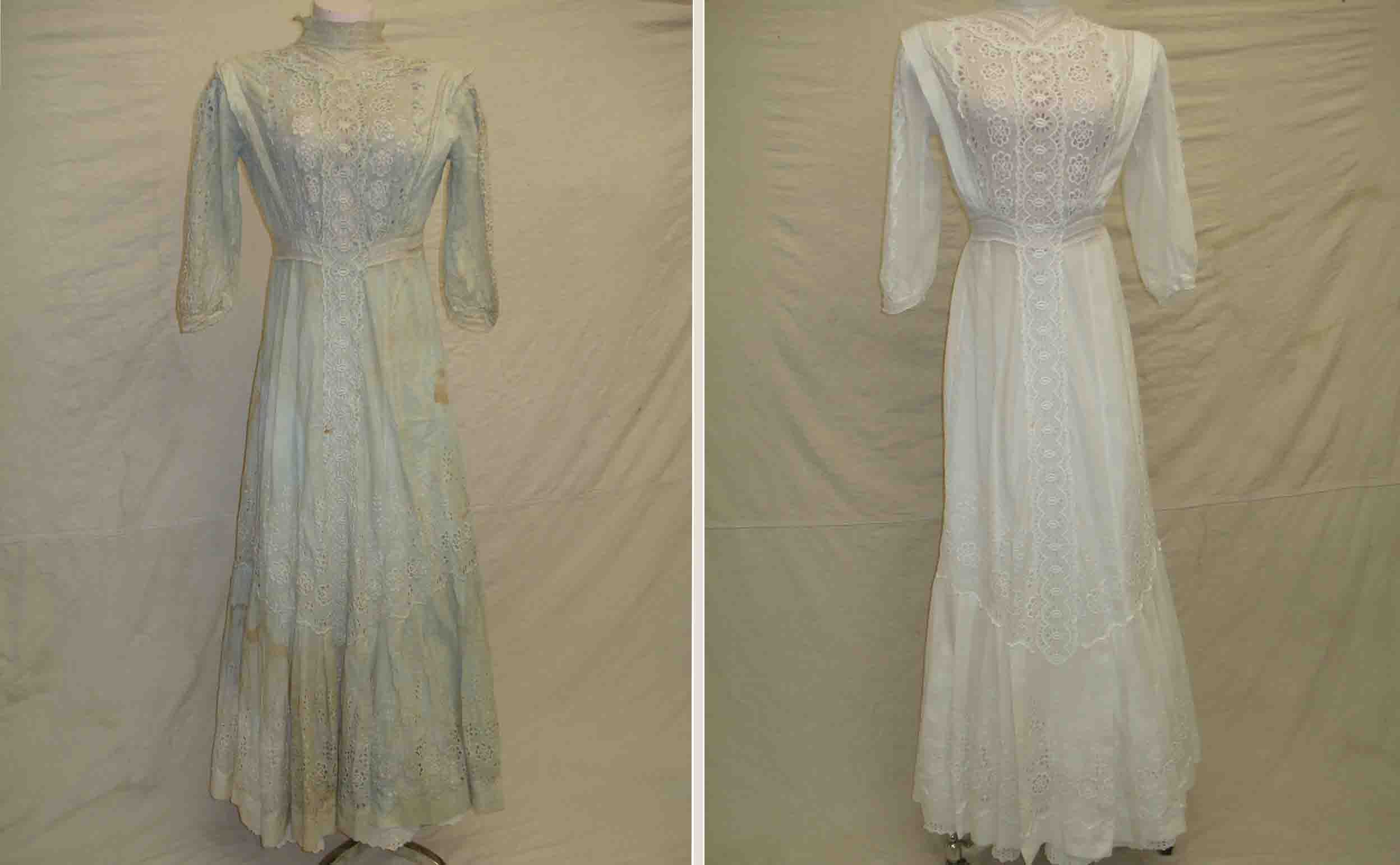 Photo Gallery of Vintage Wedding Gown Restorations